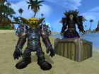 Cataclysm Goblin Warlock and Hunter