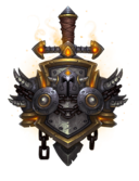 Warrior crest
