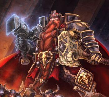 King Magni Bronzebeard