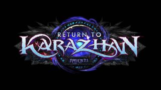 Patch-7 1-Return to Karazhan-logo