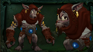 BlizzCon Legion High Mountain Drogbar Shaman