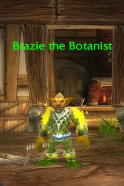Brazie the Botanist