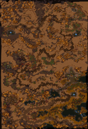 The Long March Map