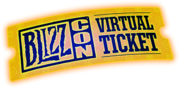 BlizzCon Virtual Ticket logo