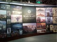 Chinese WarcraftMovie exhibition-Legendary Warcraft Experience