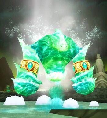 Enraged Water Spirit