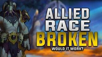 Allied Race - The Broken (Krokul) Would It Work ? - Customization, Gear, Faction & More