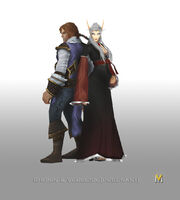 Rhonin and Vereesa Pregant