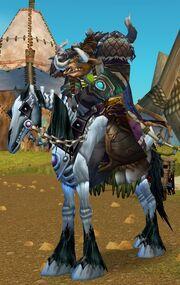 Black Skeletal Horse