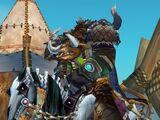 Skeletal horse mounts