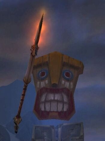 Enchanted Tiki Warrior