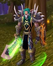 Quelserrar equipped nelf