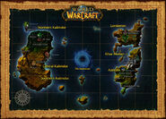WoW Town Hall world map
