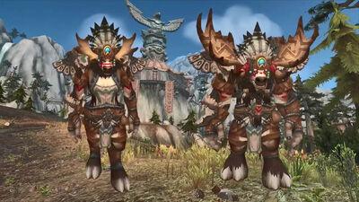 Heritage Armor-Highmountain Tauren