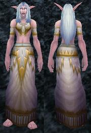 Spring Robes, Stone Background, NE Female