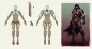 Slyvanas for Legion cinematic armor set