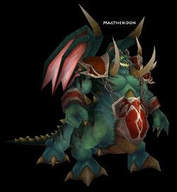 Magtheridon's Lair boss
