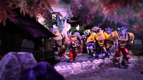 Mega Bloks World of Warcraft Episode 3 Barrens Chase