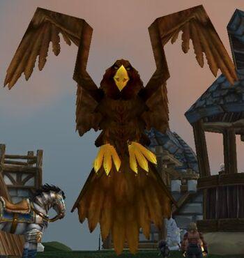 Stabled Westguard Eagle