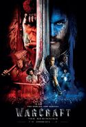 Warcraft movie international poster