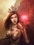 WoW queen by PRDart