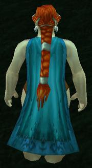 Mistscape Cloak, Grass Background, Dwarven Female