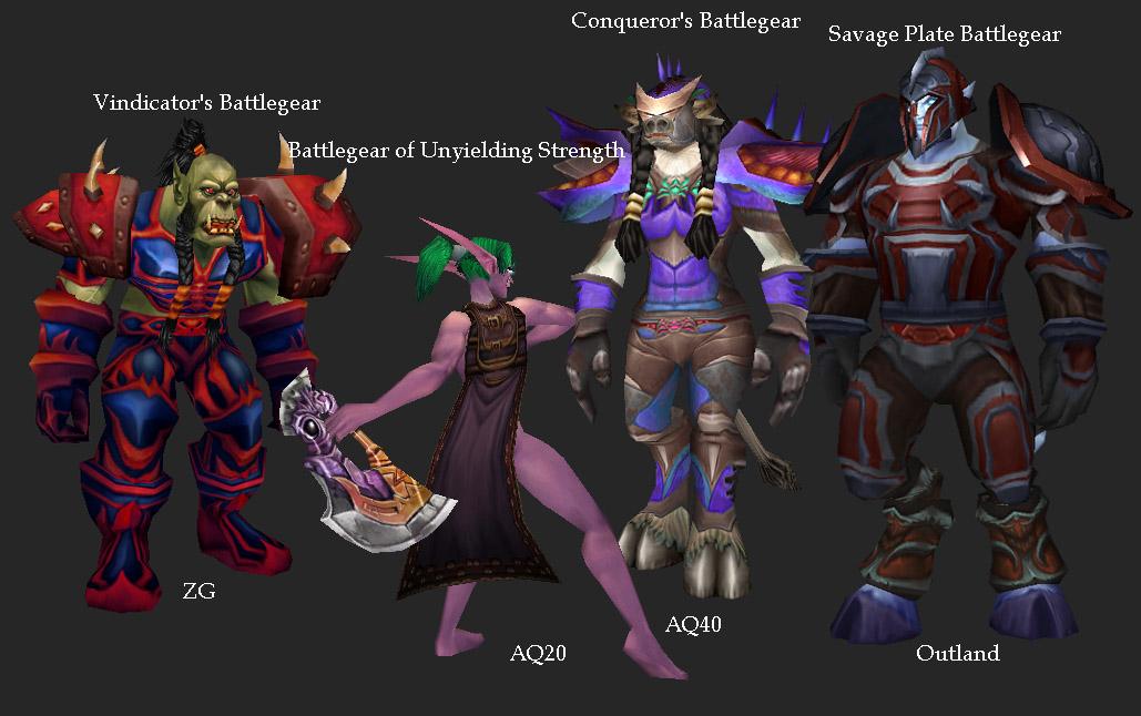 Warrior Faction Sets.jpg & Image - Warrior Faction Sets.jpg | WoWWiki | FANDOM powered by Wikia