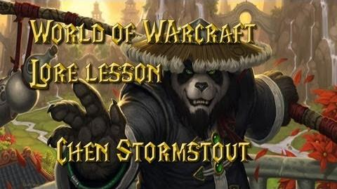 World of Warcraft lore lesson 43 Chen Stormstout