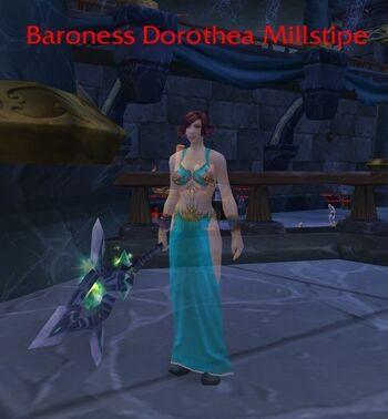 Baroness Dorothea Millstipe