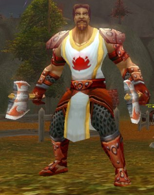 Scarlet Infantryman