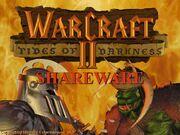 Warcraft II demo screen