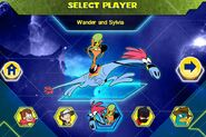 Wander and Sylvia selected