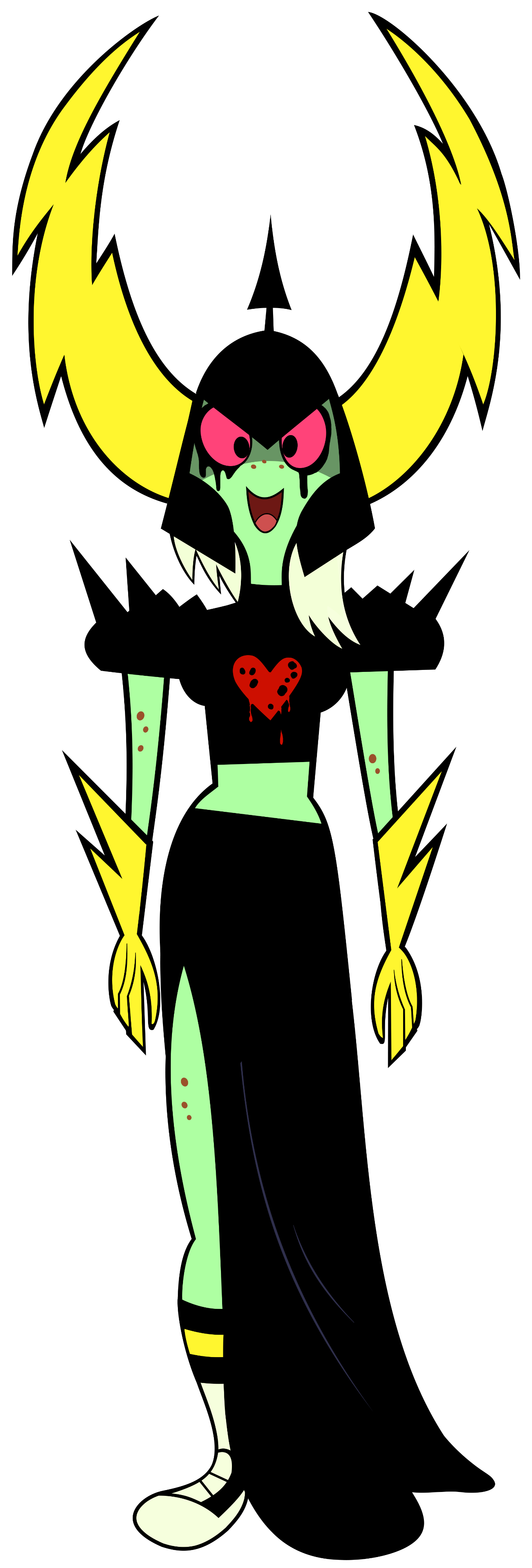 A female dominator on the side