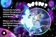 You win - Galactic Rescue