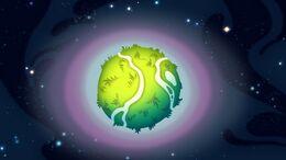S1e8b Planet that looks like a ball
