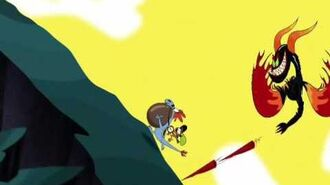 Wander over yonder bronco's buck Russian