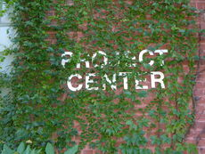 Project center sign