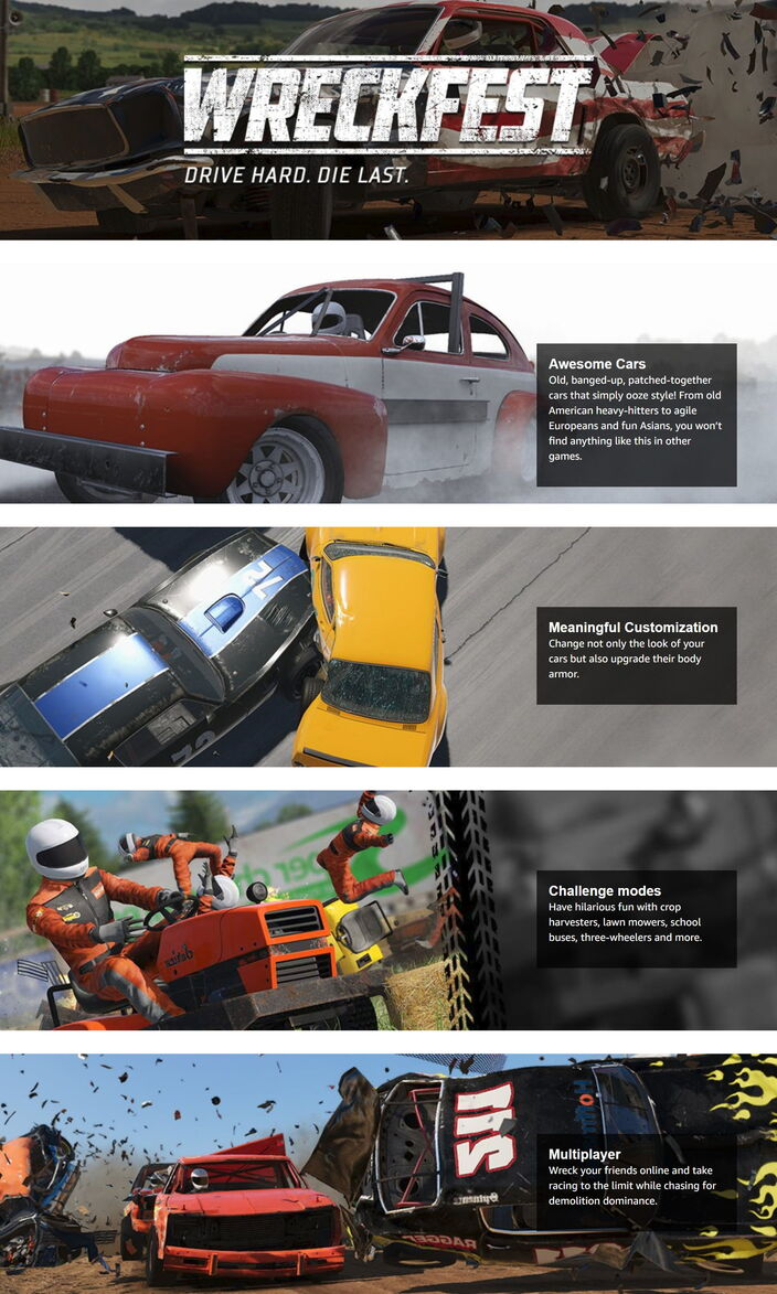 Wreckfest Feature Description (Visual)