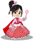 Vanellope in a Princess Gown (Still President)