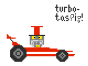 Turbo pig
