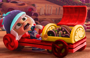 Galleta and twister's kart