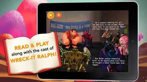 Wreck-It Ralph Storybook Deluxe App