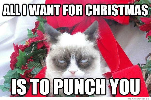 Image - Grumpy-cat-christmas-meme-all-i-want-for-christmas.jpg ...