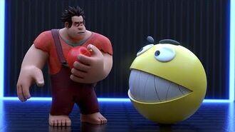 Pacman vs Wreck it Ralph - Ralph breaks the internet
