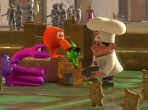 Burgertime in wreck it ralph