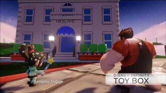 Disney Infinity Wreck It Ralph Toy Box Set