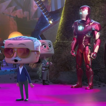 Stan Lee and Iron Man Oh My Disney