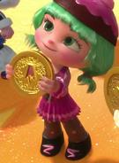 Candlehead coin upside down