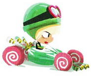 Taffy why u steal Minty's kart