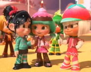 Taffyta and Vanellope